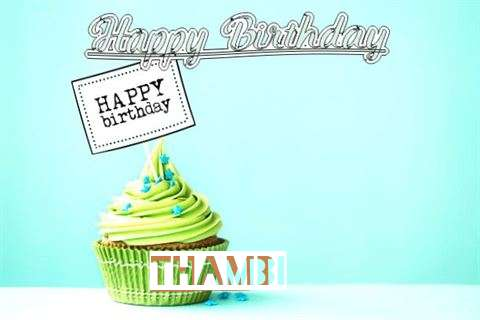 Happy Birthday to You Thambi