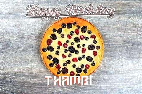 Happy Birthday Cake for Thambi