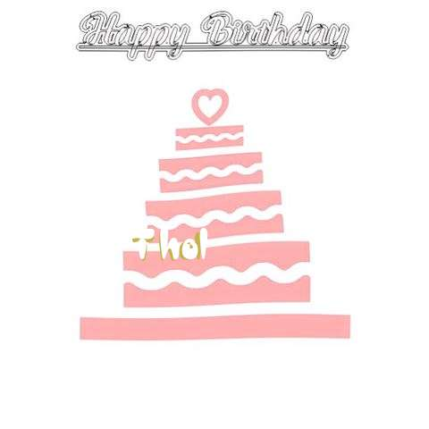 Happy Birthday Thol Cake Image