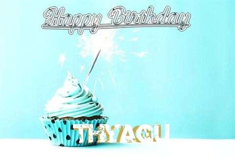 Happy Birthday Cake for Thyagu