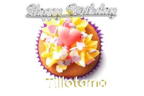 Happy Birthday Tillotama Cake Image