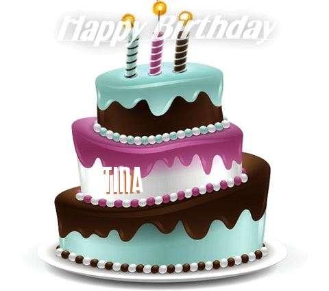 Happy Birthday to You Tina