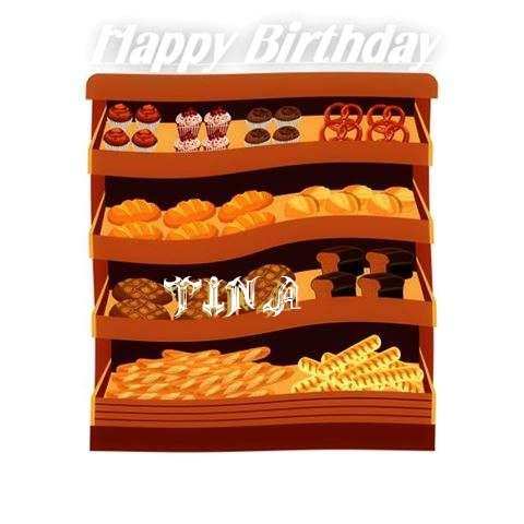 Happy Birthday Cake for Tina