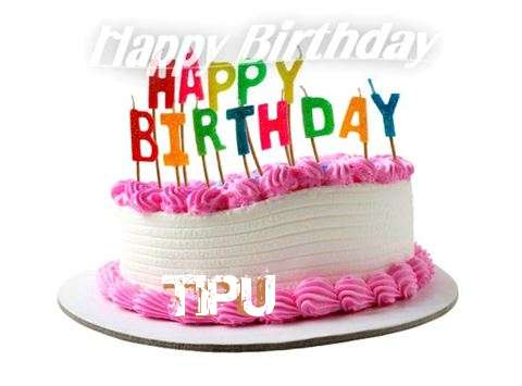 Happy Birthday Cake for Tipu