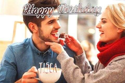 Happy Birthday Tisca Cake Image
