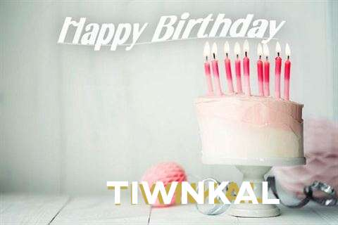 Happy Birthday Tiwnkal Cake Image