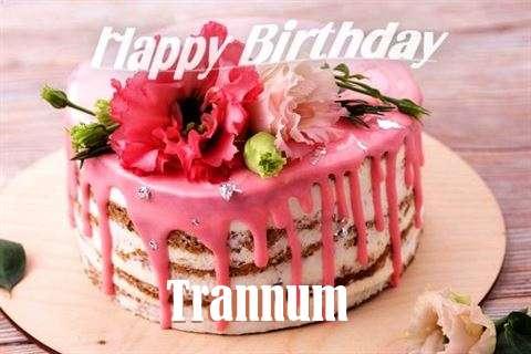Happy Birthday Cake for Trannum