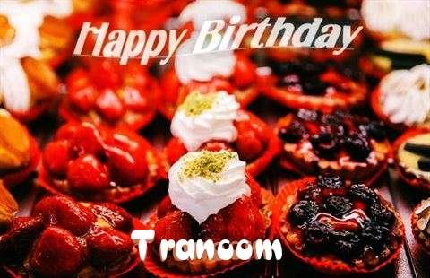 Happy Birthday Cake for Tranoom