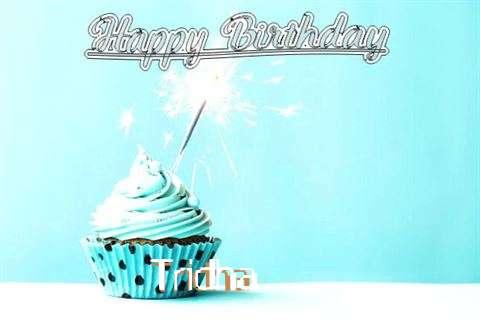 Happy Birthday Cake for Tridha