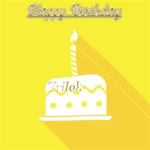Birthday Images for Trilok