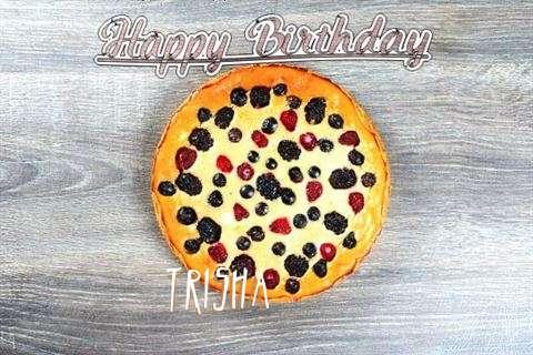 Happy Birthday Cake for Trisha