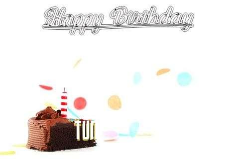 Happy Birthday Cake for Tun