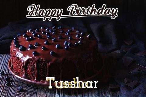 Happy Birthday Cake for Tusshar