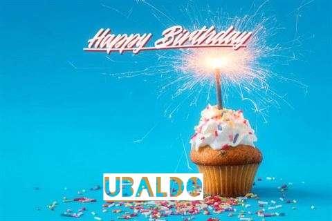 Happy Birthday Cake for Ubaldo