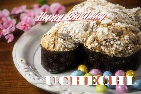 Happy Birthday Cake for Uchechi