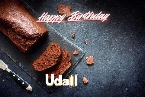 Happy Birthday Udall Cake Image