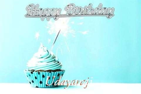 Happy Birthday Cake for Udayaraj