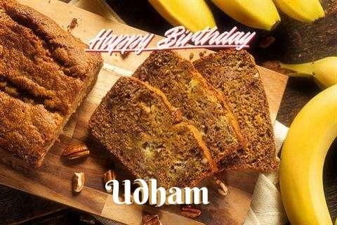 Happy Birthday Wishes for Udham
