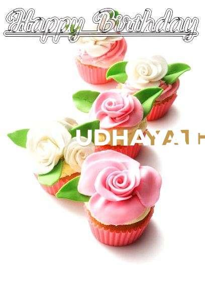 Happy Birthday Cake for Udhayathara