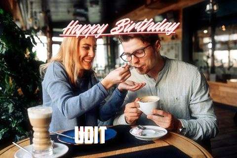 Happy Birthday Wishes for Udit