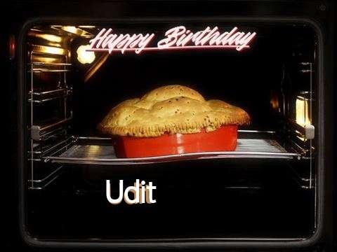 Happy Birthday Cake for Udit