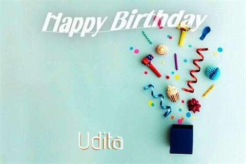 Happy Birthday Wishes for Udita
