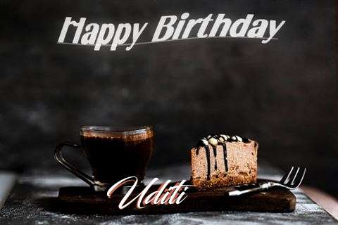 Happy Birthday Wishes for Uditi