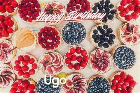 Happy Birthday Ugo Cake Image