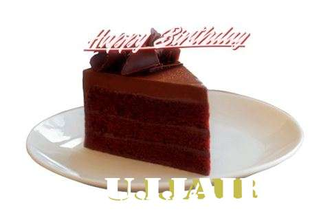 Happy Birthday Ujjair Cake Image