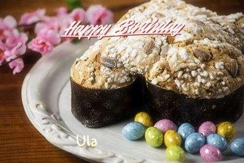 Happy Birthday Cake for Ula