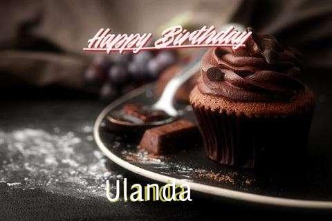 Happy Birthday Cake for Ulanda