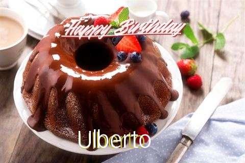 Happy Birthday Wishes for Ulberto