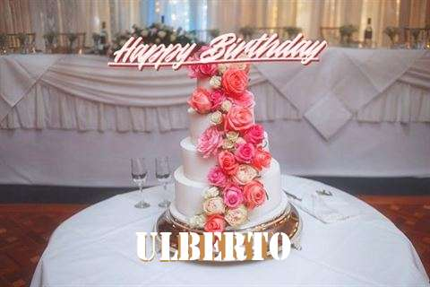 Happy Birthday to You Ulberto