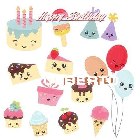 Happy Birthday Cake for Ulberto