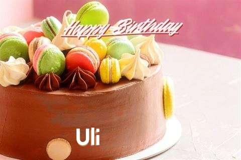 Happy Birthday Uli