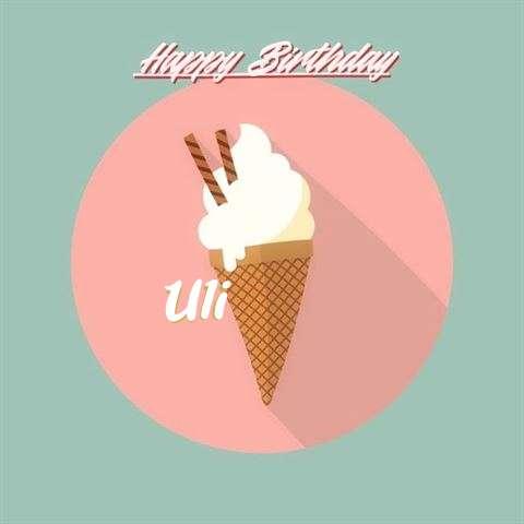 Uli Birthday Celebration