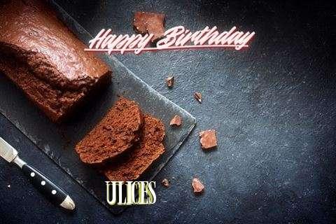 Happy Birthday Ulices Cake Image