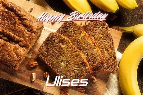 Happy Birthday Wishes for Ulises