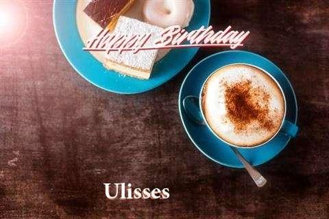 Happy Birthday to You Ulisses