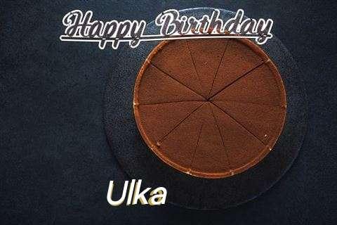 Happy Birthday to You Ulka