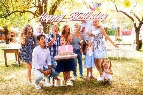 Happy Birthday Ulla