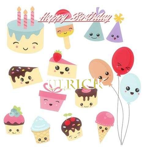 Happy Birthday Cake for Ulrick
