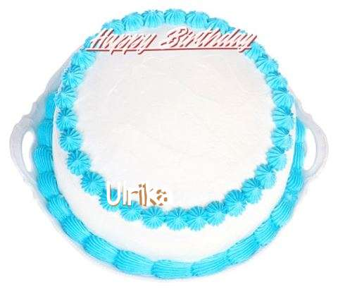 Happy Birthday Cake for Ulrika