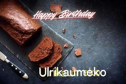 Happy Birthday Ulrikaumeko Cake Image