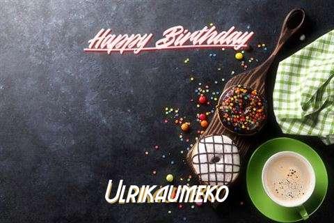 Happy Birthday Cake for Ulrikaumeko