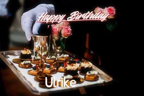 Happy Birthday Cake for Ulrike