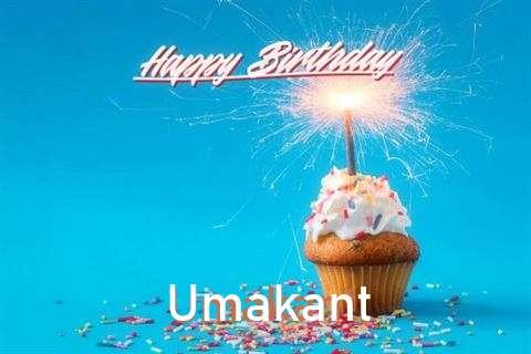 Happy Birthday Cake for Umakant