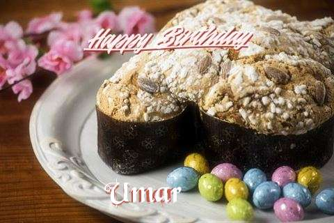 Happy Birthday Cake for Umar