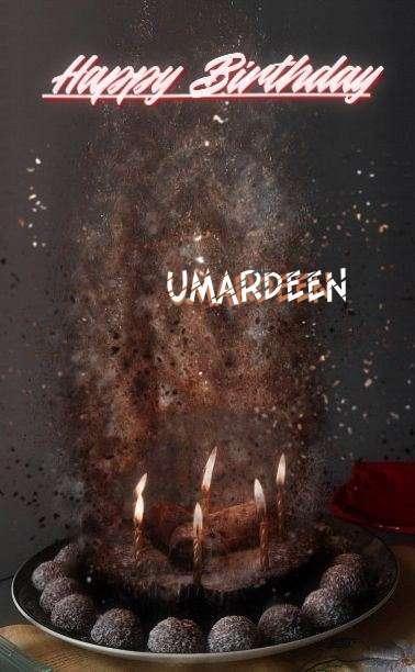 Happy Birthday Umardeen