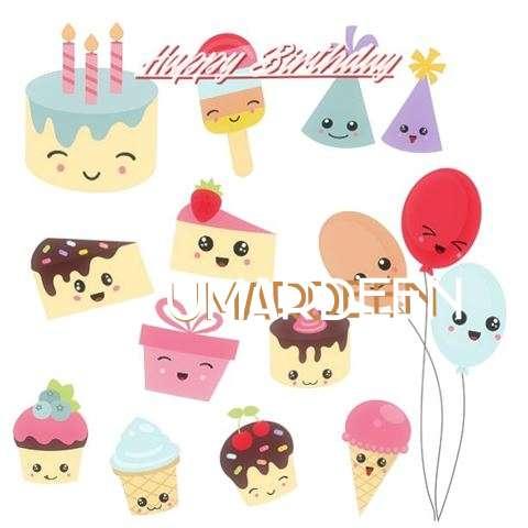 Happy Birthday Cake for Umardeen